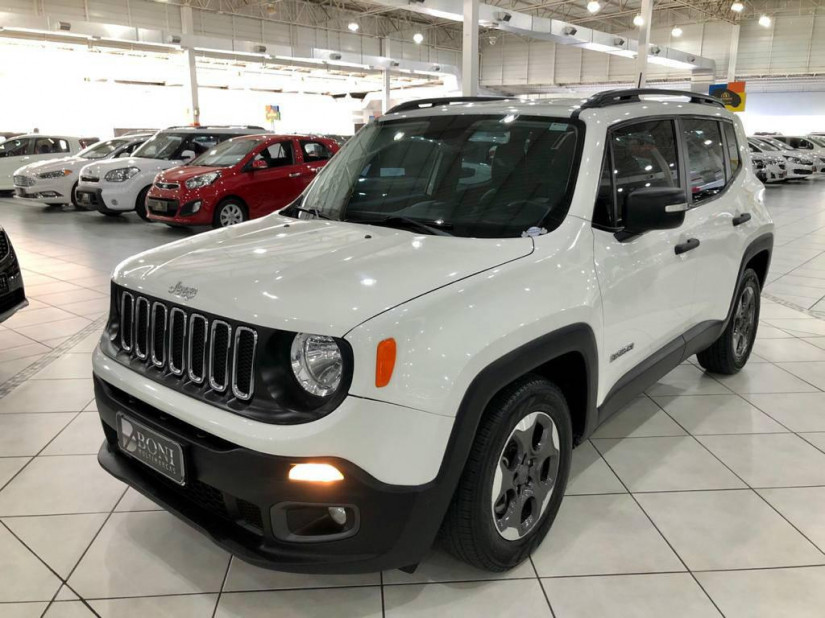 Jeep Renegade SPORT 1.8 AUTOMÁTICO - 17/17