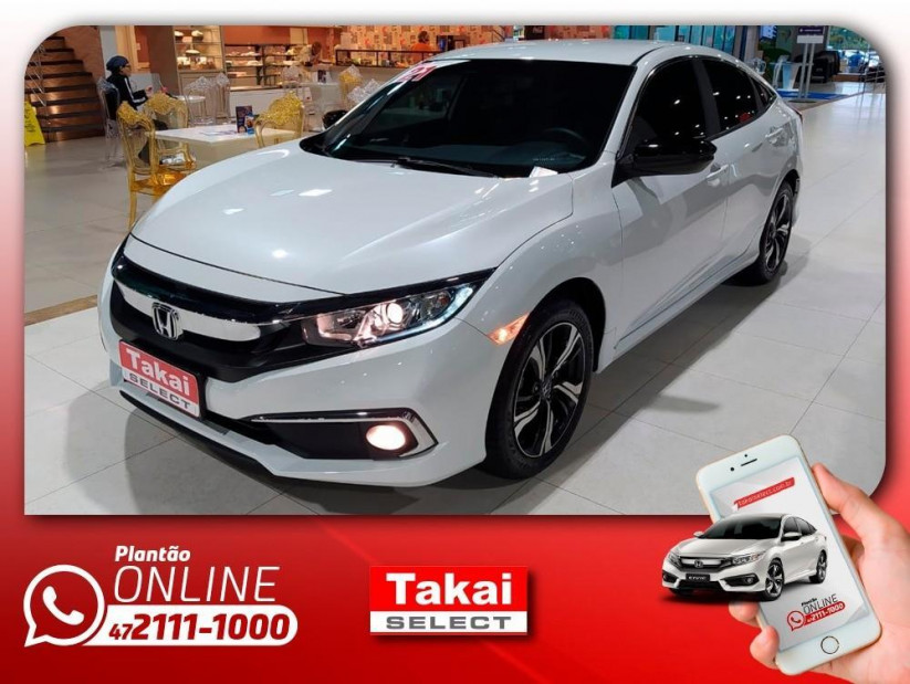 Honda Civic EX Automático CVT - 20/21